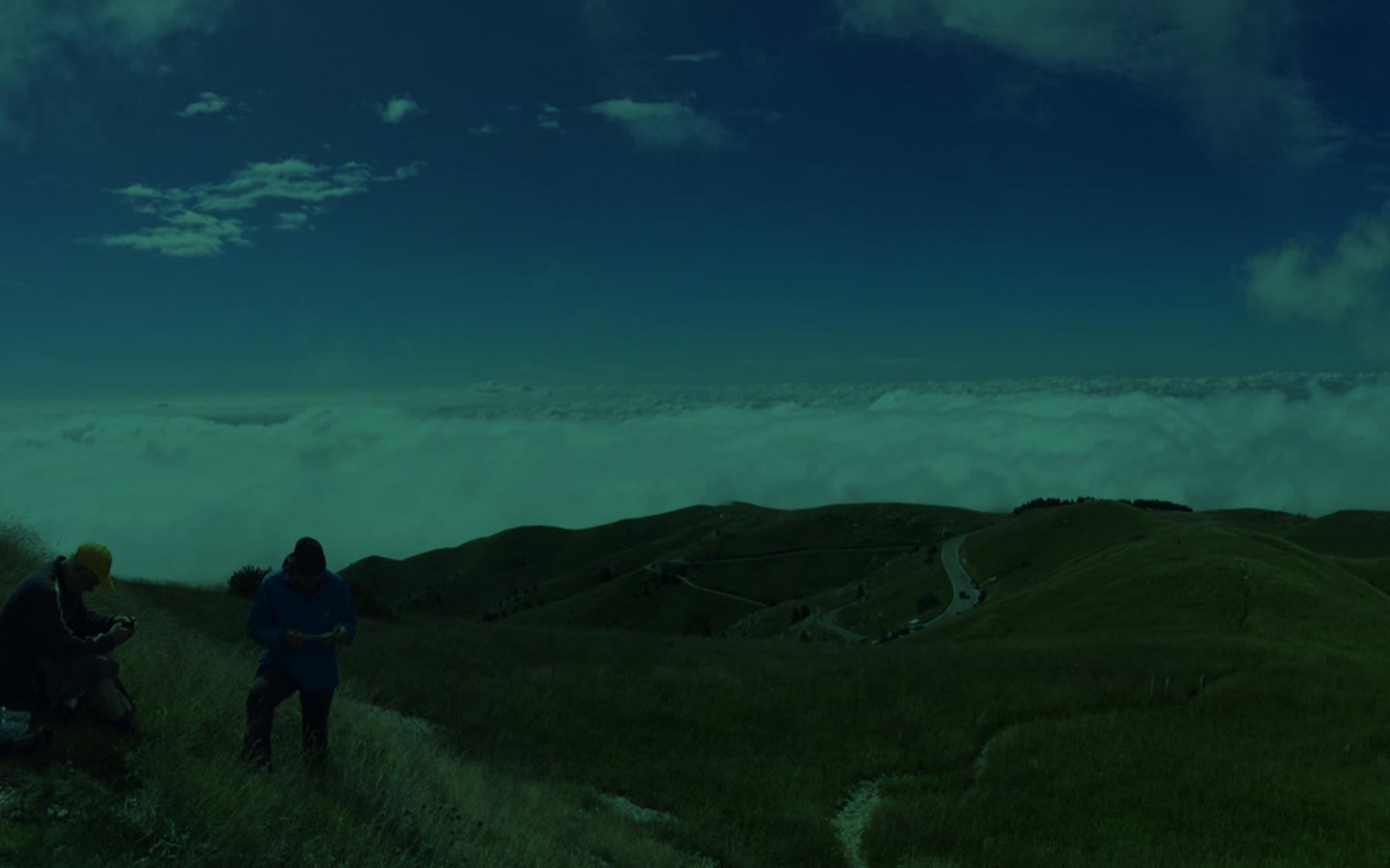 Il Grappa sopra le nuvole