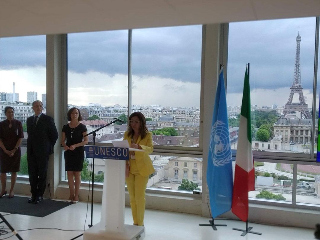 Il Grappa - La rete delle Riserve di Biosfera italiane all'UNESCO di Parigi